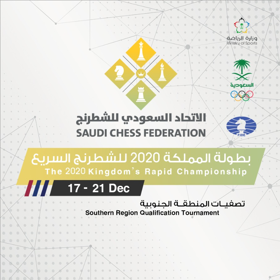 the-2020-kingdom-s-rapid-chess-championship-southern-region-qualification-tournament-event-poster