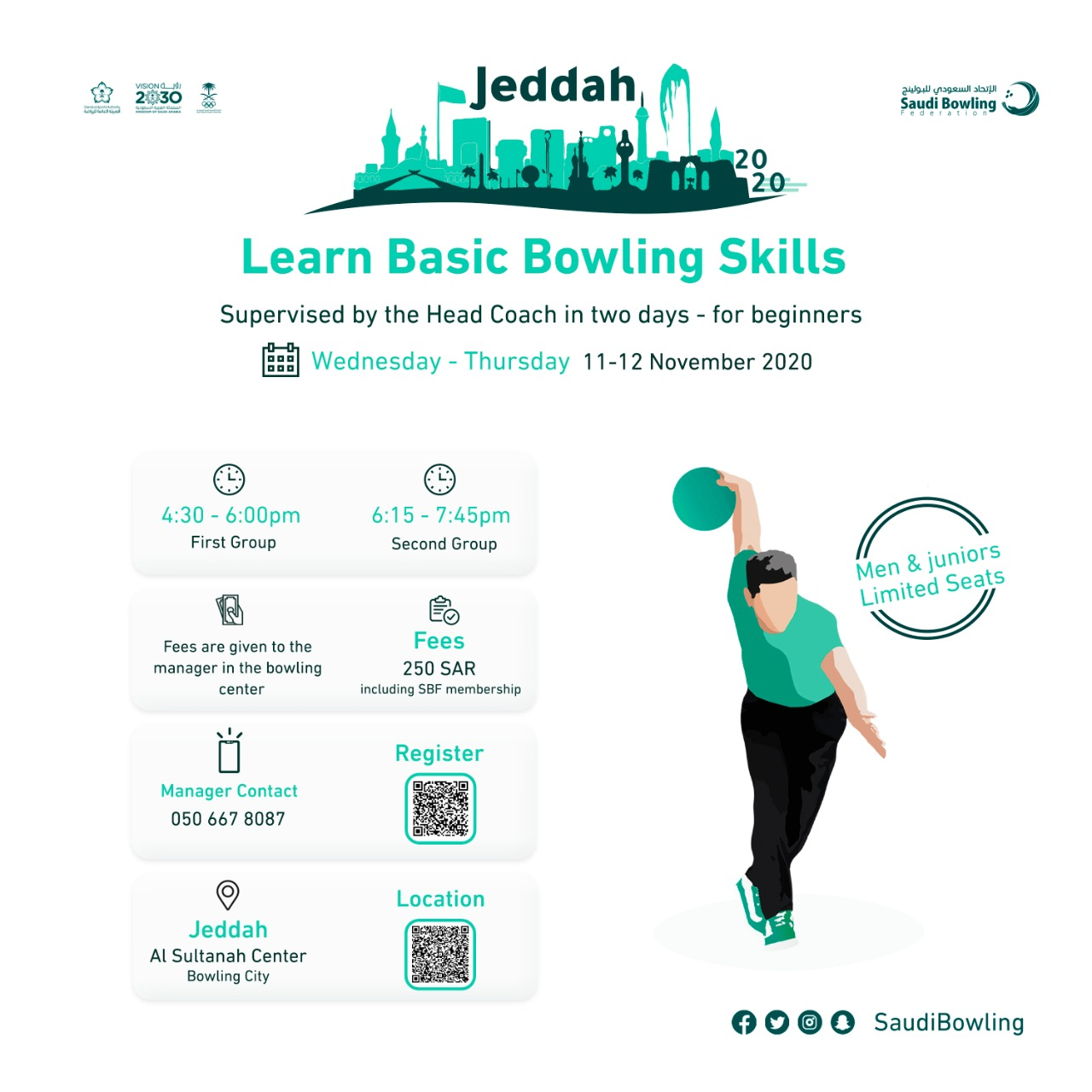 training-course-for-basic-bowling-skills-for-men-event-poster